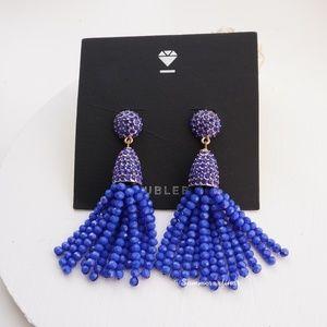 NWT Mini Piñata Gem Beads Tassel Drop Earrings
